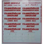 Planches Transcéréales N°2