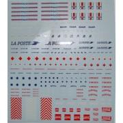 Planche de marquages divers