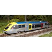 SNCF TER X 73500 railcar Burgundy digital + sounds