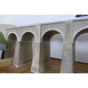 Viaduc double voie PLM 5 arches