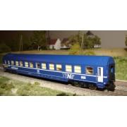 Voiture lits MU SNCB Railtour