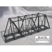Single track metal truss bridge 12,5 cm