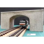 Finished cutstone bridge