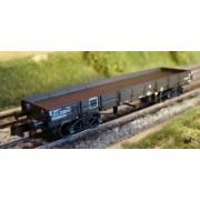 Wagon TP plat SNCF brun