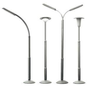 Lampadaires de rue non fonctionnels