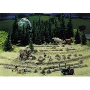 Set of haymaking