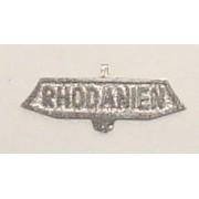 Rhodanien sign