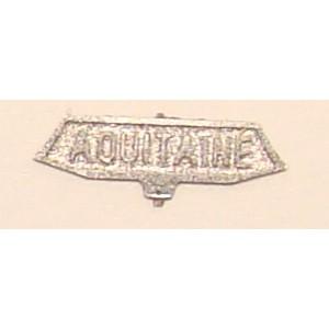 Plaque Aquitaine