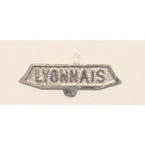 Plaque Lyonnais
