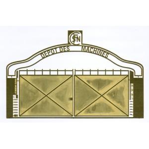 Portail de dépôt SNCF