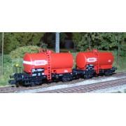 Set of 2 SNCF OCEM 29 tank wagons ADAMS