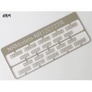 Jeu N°3 de plaques CC 72000