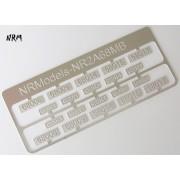 Jeu N°2 de plaques A1A A1A 68000