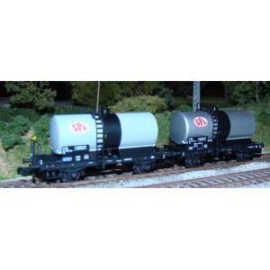 Set 2 wagons citernes SNCF OCEM 29 SGTL ép IV