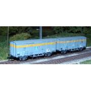 Set 2 wagons CFL Gkks Air Liquide