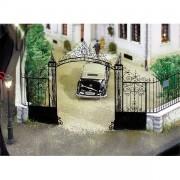 Castle or estate gate