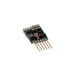 NEM 651 Silver Mini decoder