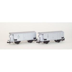 Set 2 wagons FS frigorifiques ep 3a