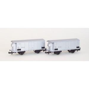 Set of 2 FS refrigered wagons era 4