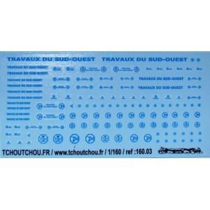 TSO logos and letterings