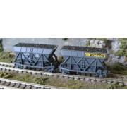 Coupling of coal hopper wagons SIMOTRA