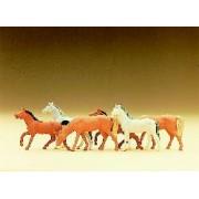 Set of 6 horses