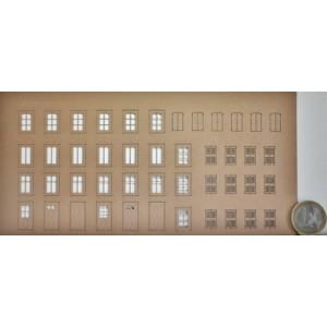 Sheet N°2 of doors and windows