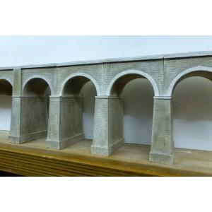 Viaduc PLM double voie 7 arches