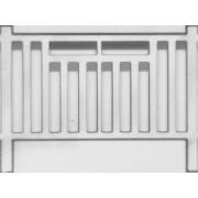 Barrières béton SNCB type 1