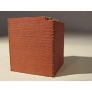 Set of 2 bridge pilars in bricks