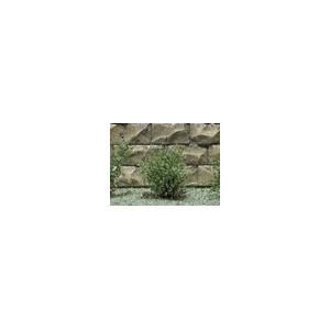 Jeu de 14 arbustes vert saule 15 mm