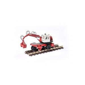 Grue rail-route POCLAIN TY45 benne V2