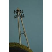 Set oj 2 telegraph poles