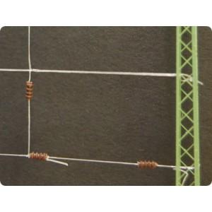 Rouleau de fil Realflex et pendules