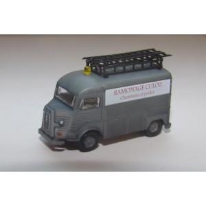 Chimney sweeping HY Citroën van