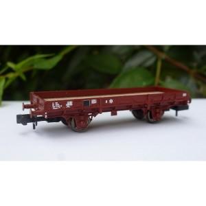 Wagon plat OCEM boîtes d'essieu à rouleaux