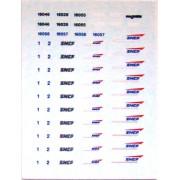 Planche logos nouille et casquette SNCF