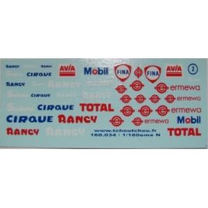 Planche cirque Rancy et pétroliers