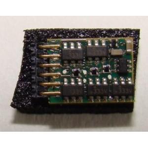 Décodeur N025 NEM 651 avec broches coudées