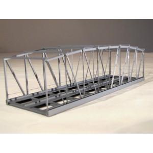 Pont cage métallique double voies 20 cm