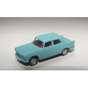 Berline 404 Peugeot bleu clair