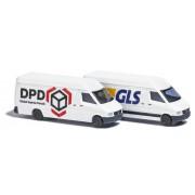 Set of 2 MB Sprinter vans DPD and GLS