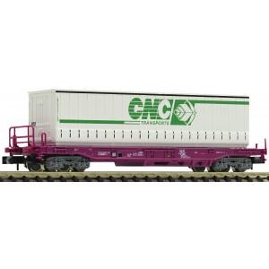 Wagon poche SNCF + caisse mobile CNC