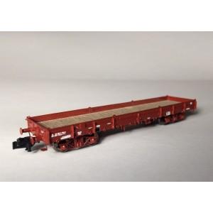 Wagon plat Relmms ex-USA18 bogies Y27 soudés