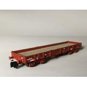 Wagon plat Relmms ex-USA18 bogies Y27 moulés