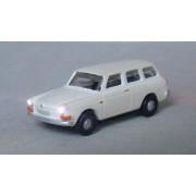VW 1600 Variant blanche éclairée