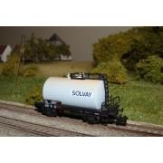 Wagon citerne SNCF SOLVAY époque IV