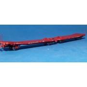 Wagon plat double DSB LAADKS TWA-800-A