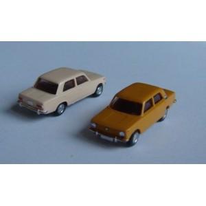 Jeu de 2 Fiat 124