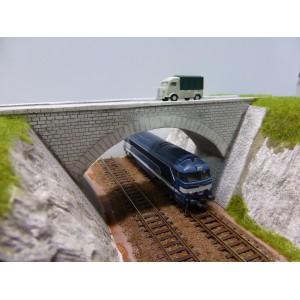 Pont routier à culées perdues double voies